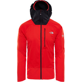 The North Face Summit L4 Windstopper Hybrid Hoodie Herr fiery red/tnf black